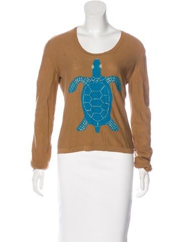 Sonia Rykiel Intarsia Knit Sweater None