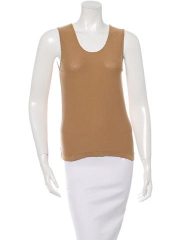 Sonia Rykiel Knit Sleeveless Top None