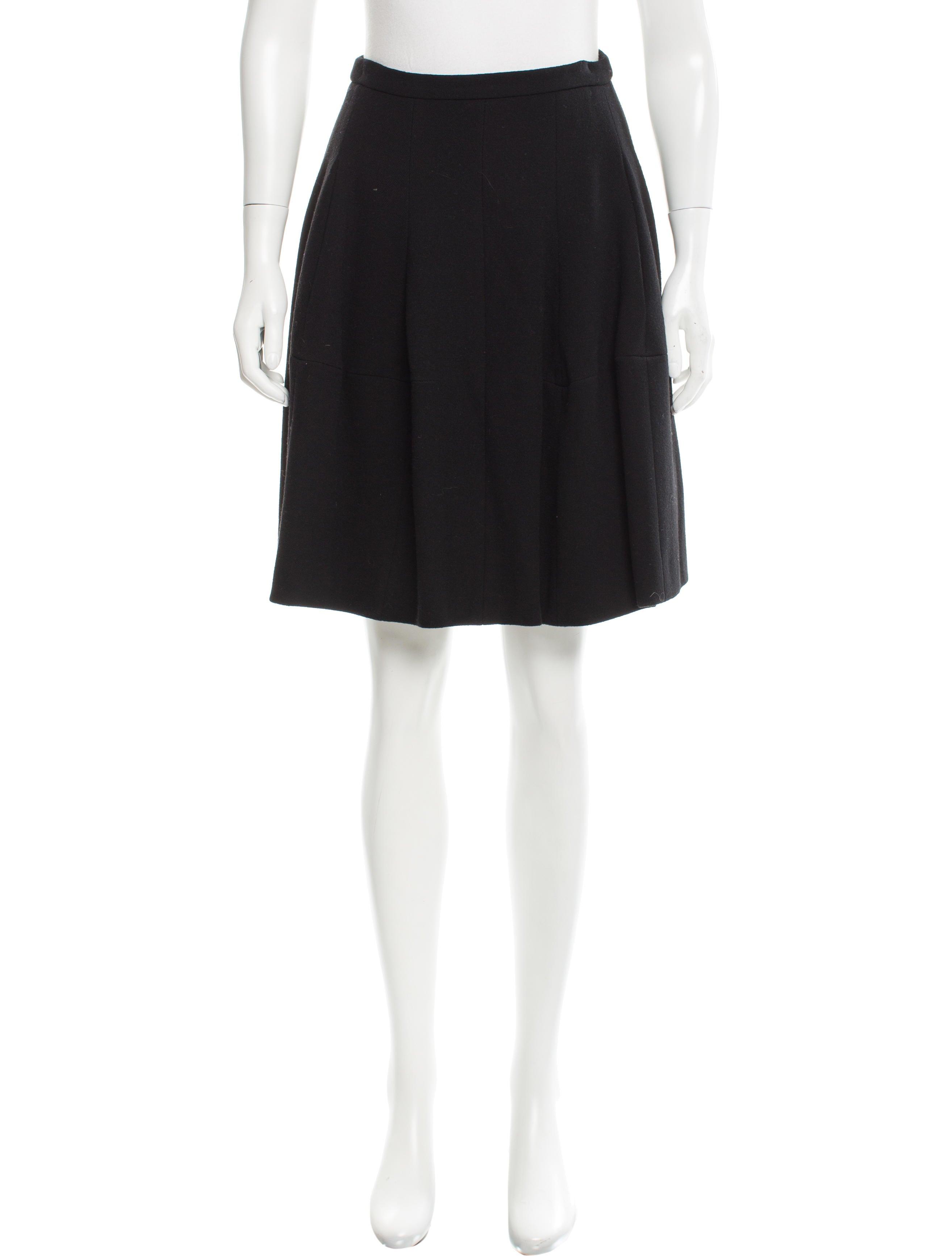 rykiel a line wool skirt clothing son24554 the
