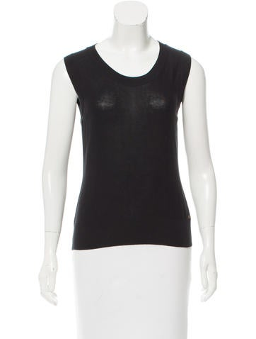 Sonia Rykiel Sleeveless Knit Top None