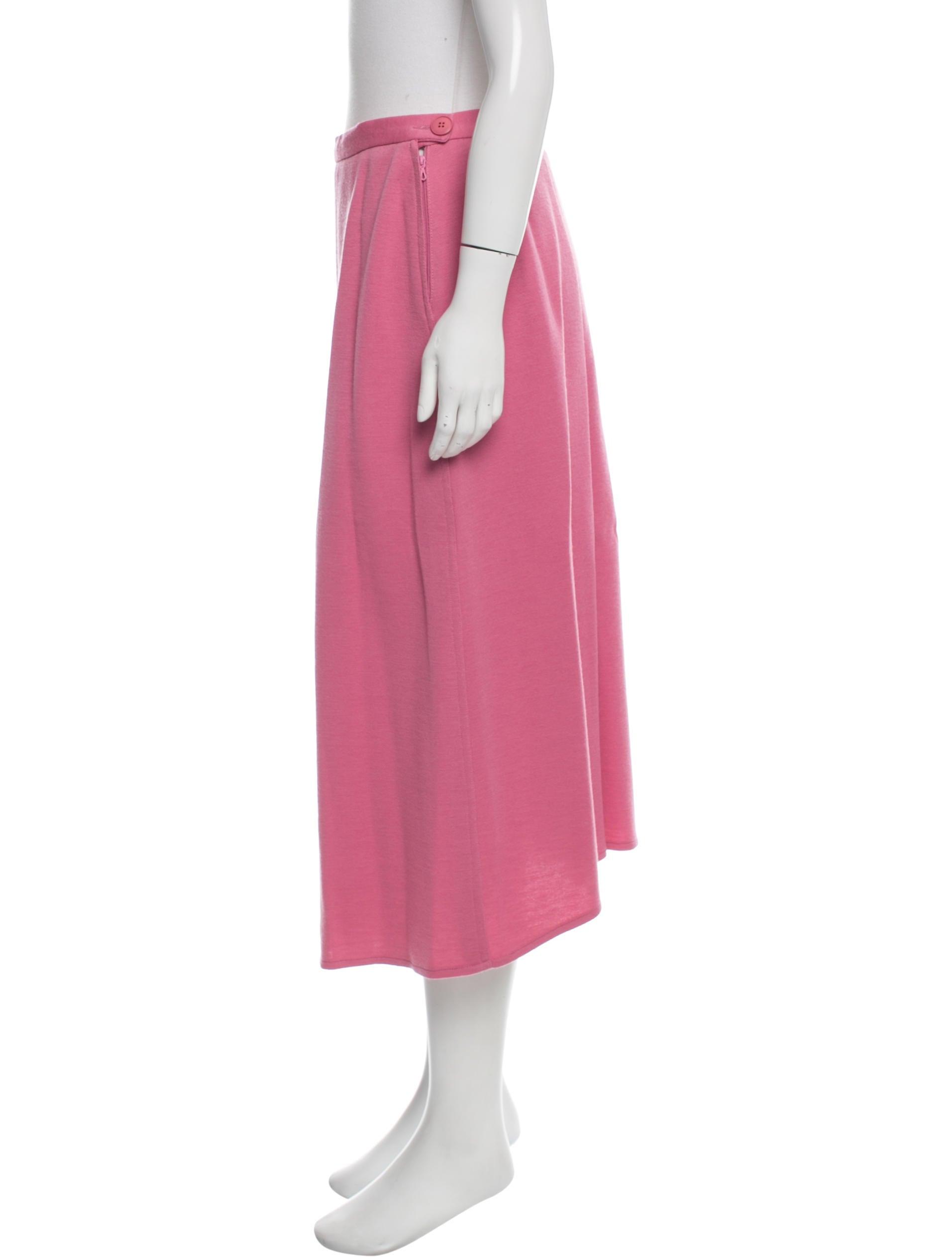 rykiel wool midi skirt clothing son25087 the