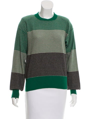 Sonia Rykiel Structured Striped Sweater None