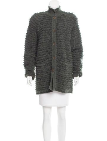 Sonia Rykiel Oversize Knit Cardigan None