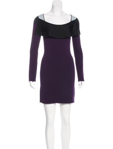 Sonia Rykiel Knit Colorblock Dress None