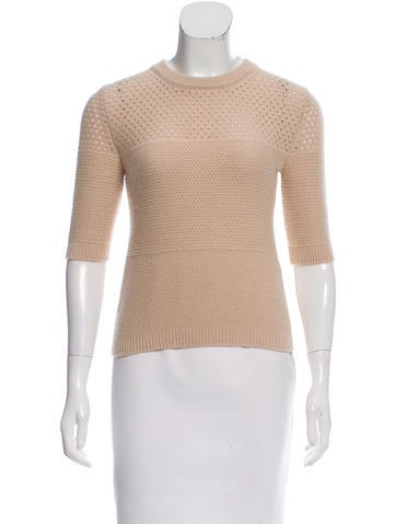 Sonia Rykiel Short Sleeve Cashmere Sweater w/ Tags None
