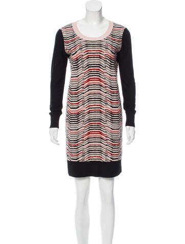 Sonia Rykiel Wool Mini Dress None