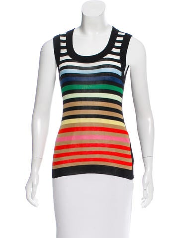 Sonia Rykiel Striped Knit Top w/ Tags None