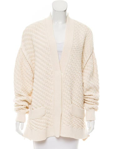 Sonia Rykiel Textured Knit Cardigan w/ Tags None