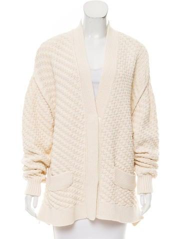 Sonia Rykiel Textured Knit Cardigan w/ Tags None