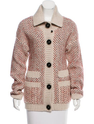 Sonia Rykiel Bouclé Knit Cardigan w/ Tags None