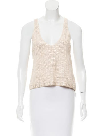 Sonia Rykiel Sequin Embellished Knit Top None