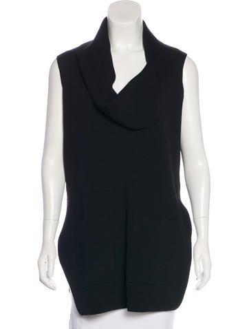 Sonia Rykiel Wool Oversize Top None