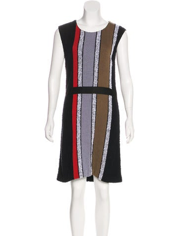 Sonia Rykiel Patterned Sheath Dress None
