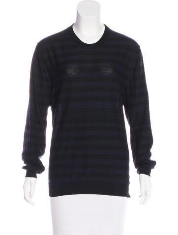 Sonia Rykiel Stripe Wool Sweater None