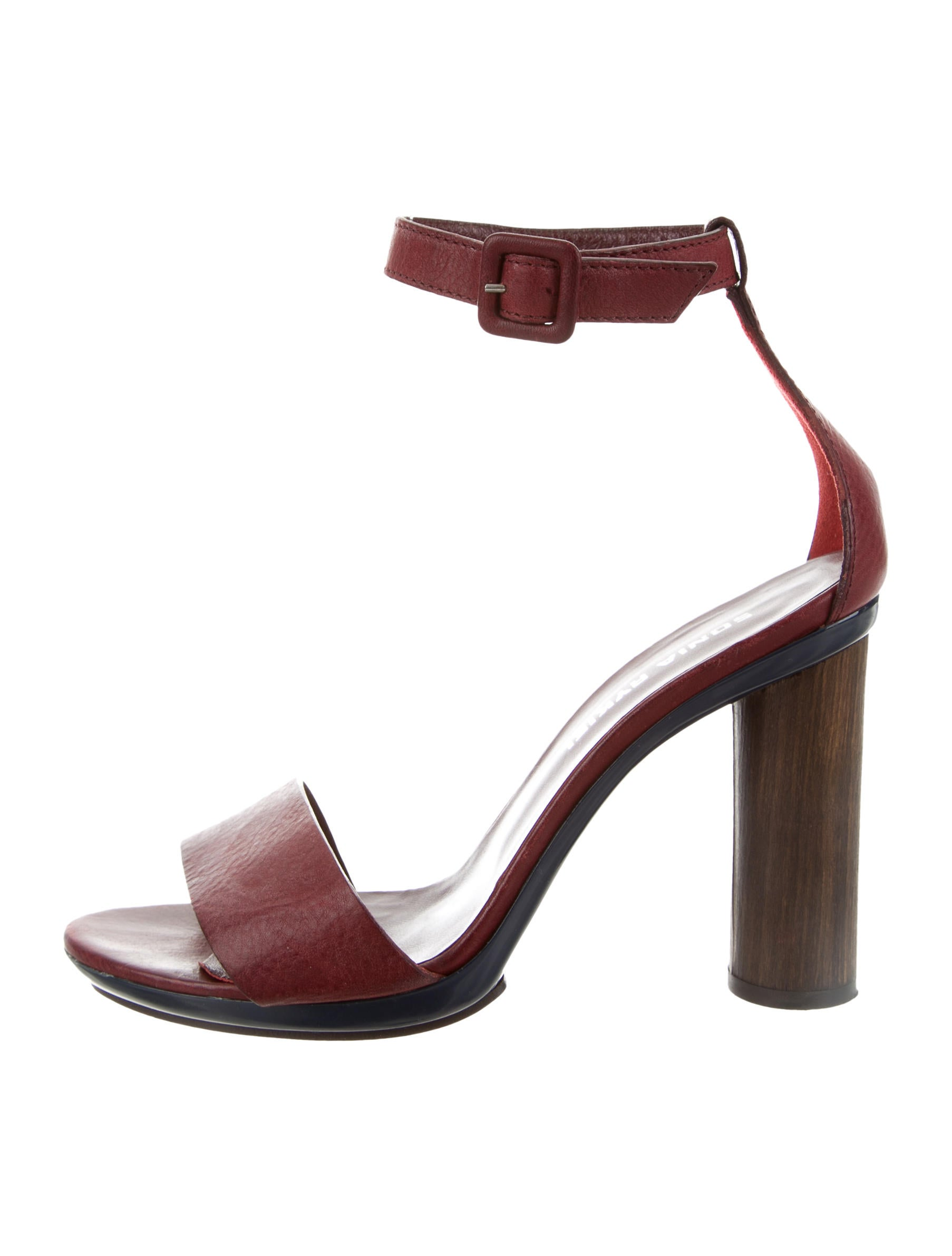 Sonia Rykiel Leather Ankle Strap Sandals cheap sale sneakernews discount brand new unisex footaction cheap price e8ZN2