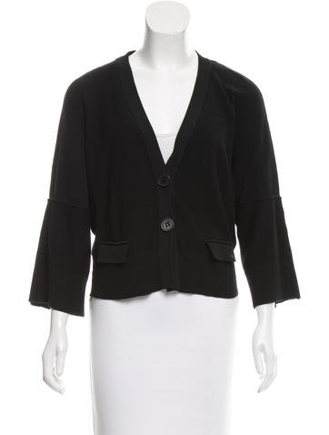 Sonia Rykiel Long Sleeve Button-Up Cardigan None