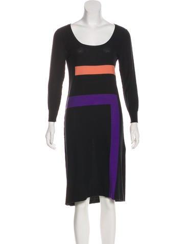 Sonia Rykiel Knit Midi Dress None