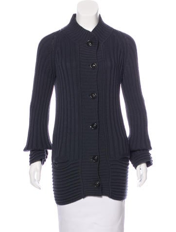 Sonia Rykiel Cable Knit Cardigan None