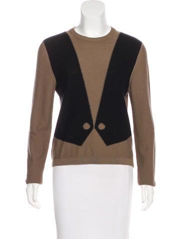 Sonia Rykiel Wool & Angora Knit Sweater None