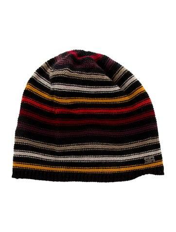 Sonia Rykiel Girls' Striped Wool Beanie None