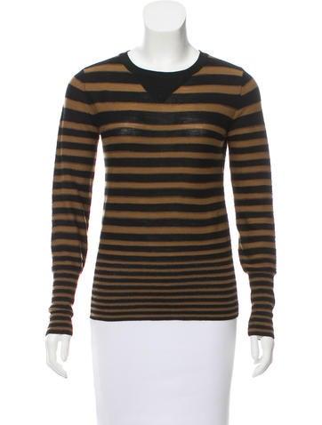 Sonia Rykiel Striped Wool Sweater None
