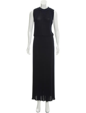 Sonia Rykiel Sleeveless Ribbed Dress None
