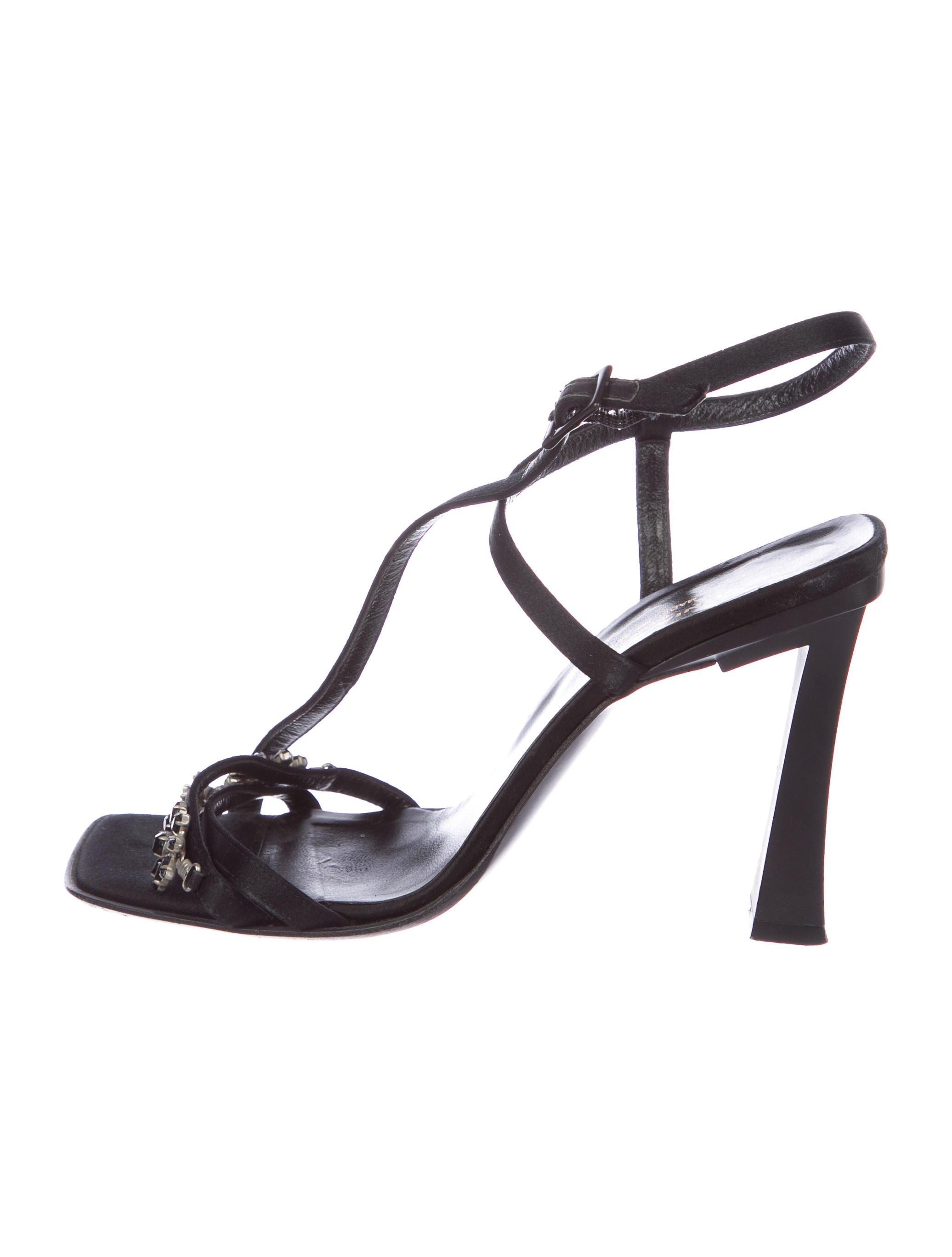 Sonia Rykiel Vintage Satin Sandals best online discount genuine cheap limited edition cheap enjoy discount wide range of Ux56qa1E0K