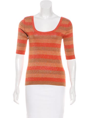 Sonia Rykiel Silk-Blend Top None