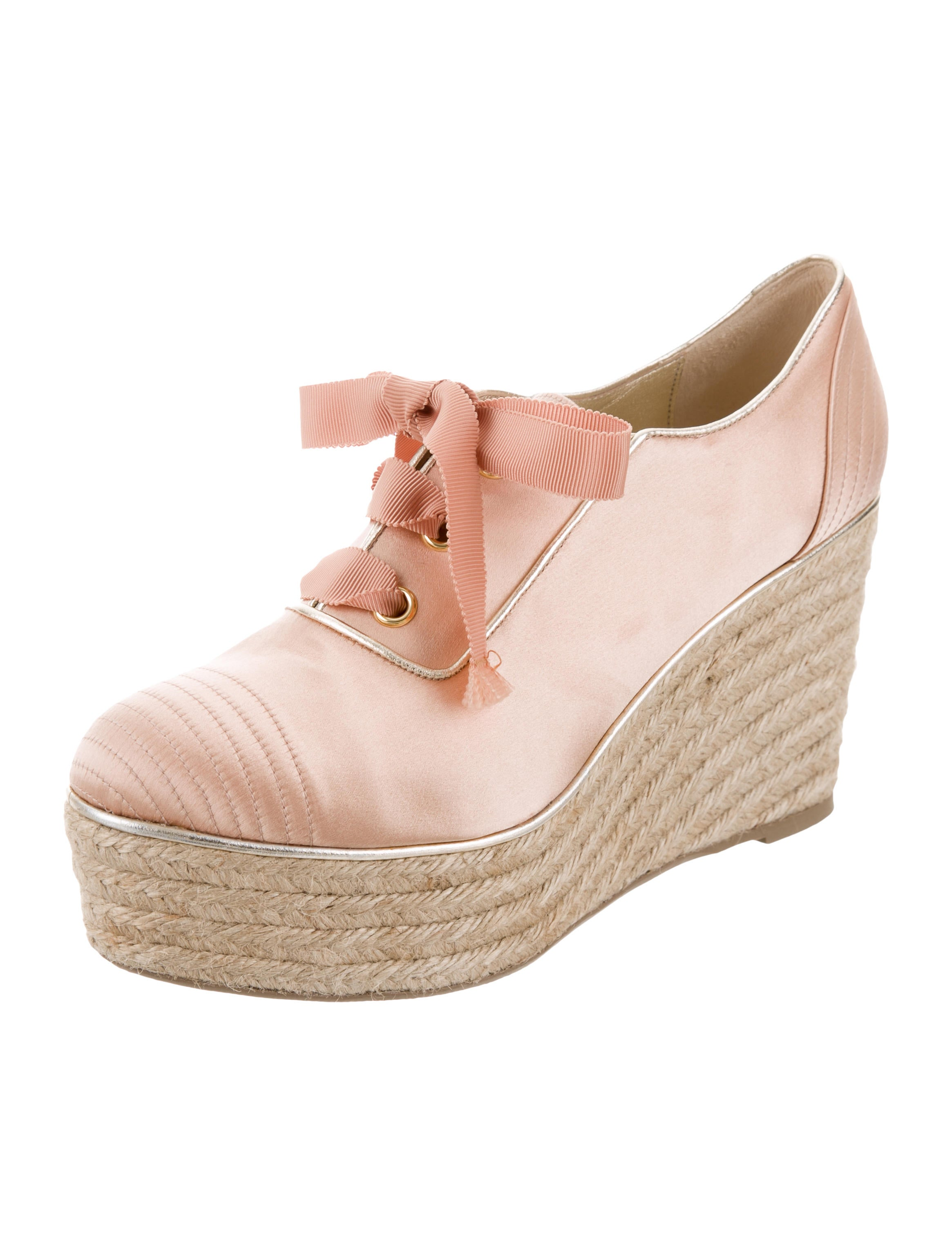 Sonia Rykiel Satin Oxford Wedges visa payment cheap price free shipping very cheap discount really cheap sale discount many kinds of cheap online iP8ccJWjys