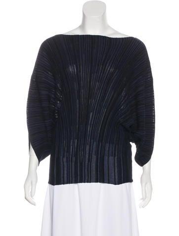 Sonia Rykiel Oversize Knit Top None