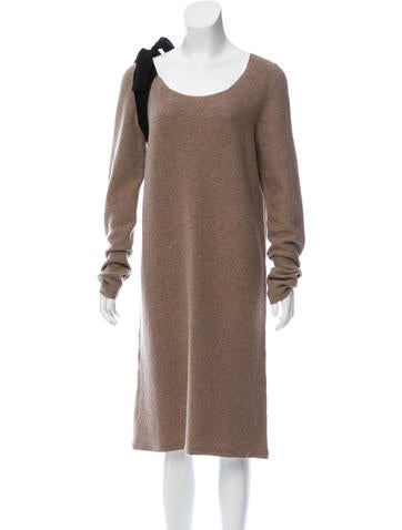 Sonia Rykiel Wool Knee-Length Dress None