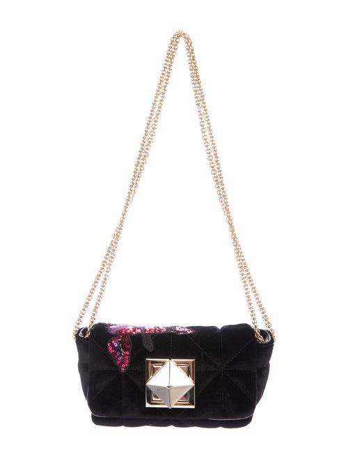 6157849f2e Sonia Rykiel Embellished Le Copain Velvet Bag - Handbags - SON31879 ...