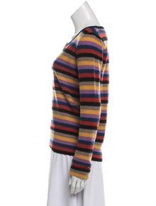 4910af6e485842 Sonia Rykiel. Patterned Wool Sweater