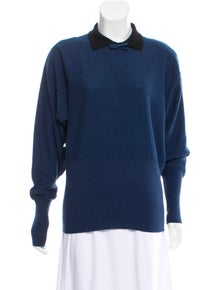 Sonia Rykiel Lightweight Collared Sweater