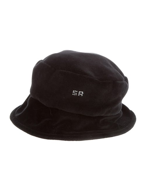 Sonia Rykiel Logo Bucket Hat Black