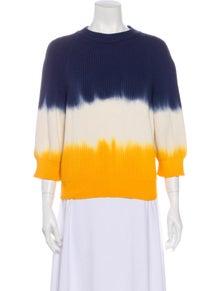 Sonia Rykiel Striped Crew Neck Sweater