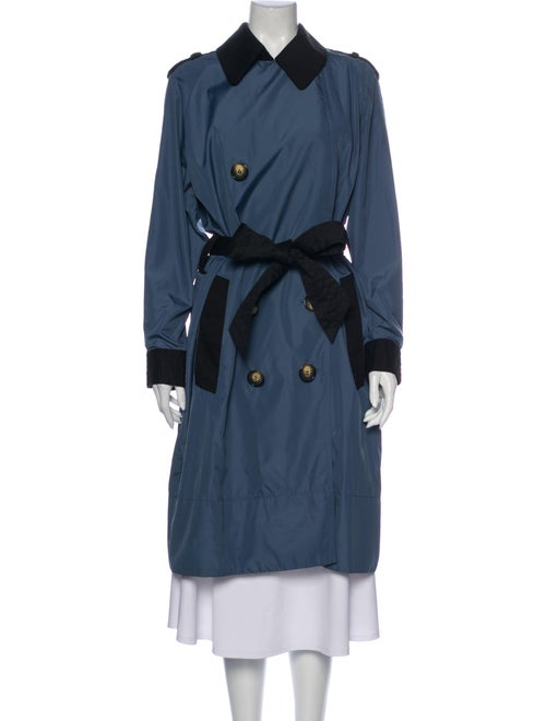 Sonia Rykiel Trench Coat Blue