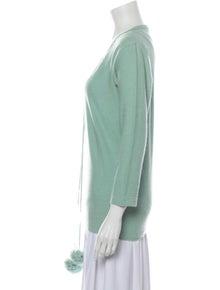 Sonia Rykiel Scoop Neck Sweater