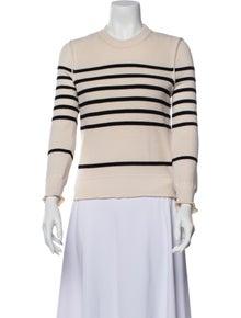 Sonia Rykiel Virgin Wool Striped Sweater