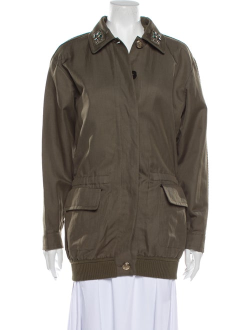 Sonia Rykiel Trench Coat Green