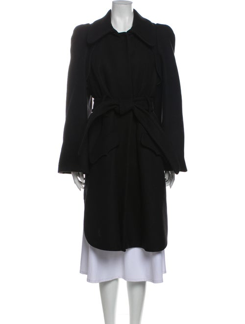 Sonia Rykiel Wool Trench Coat Wool