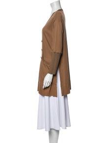 Sonia Rykiel Scoop Neck Long Sleeve Tunic