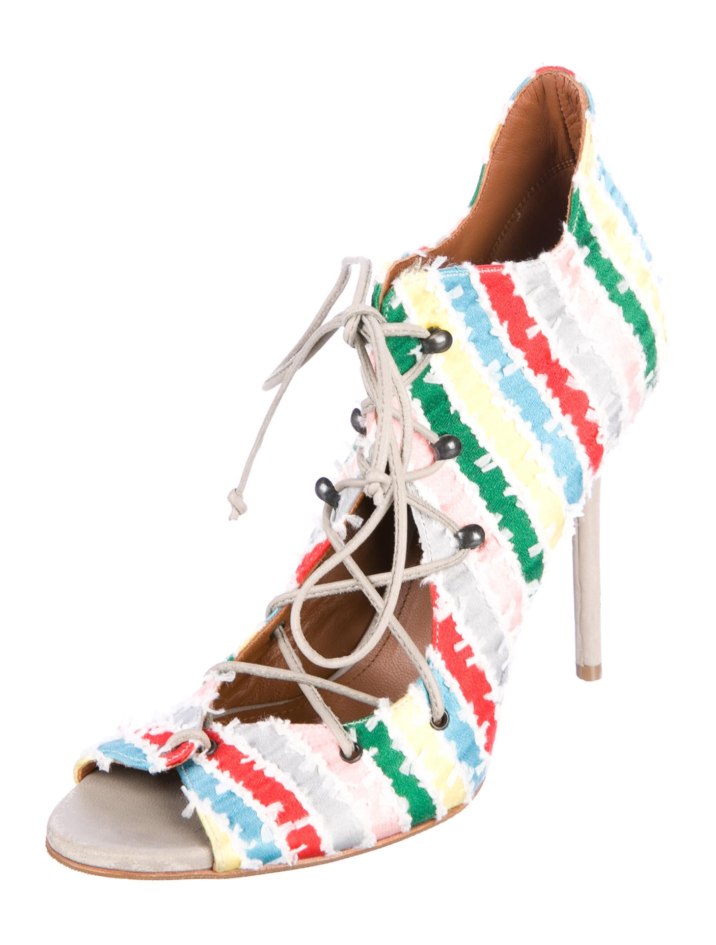 Malone Souliers Satin Caged Sandals best store to get cheap online for sale cheap price clearance factory outlet 2015 for sale cheap sale exclusive nOqLyYJin