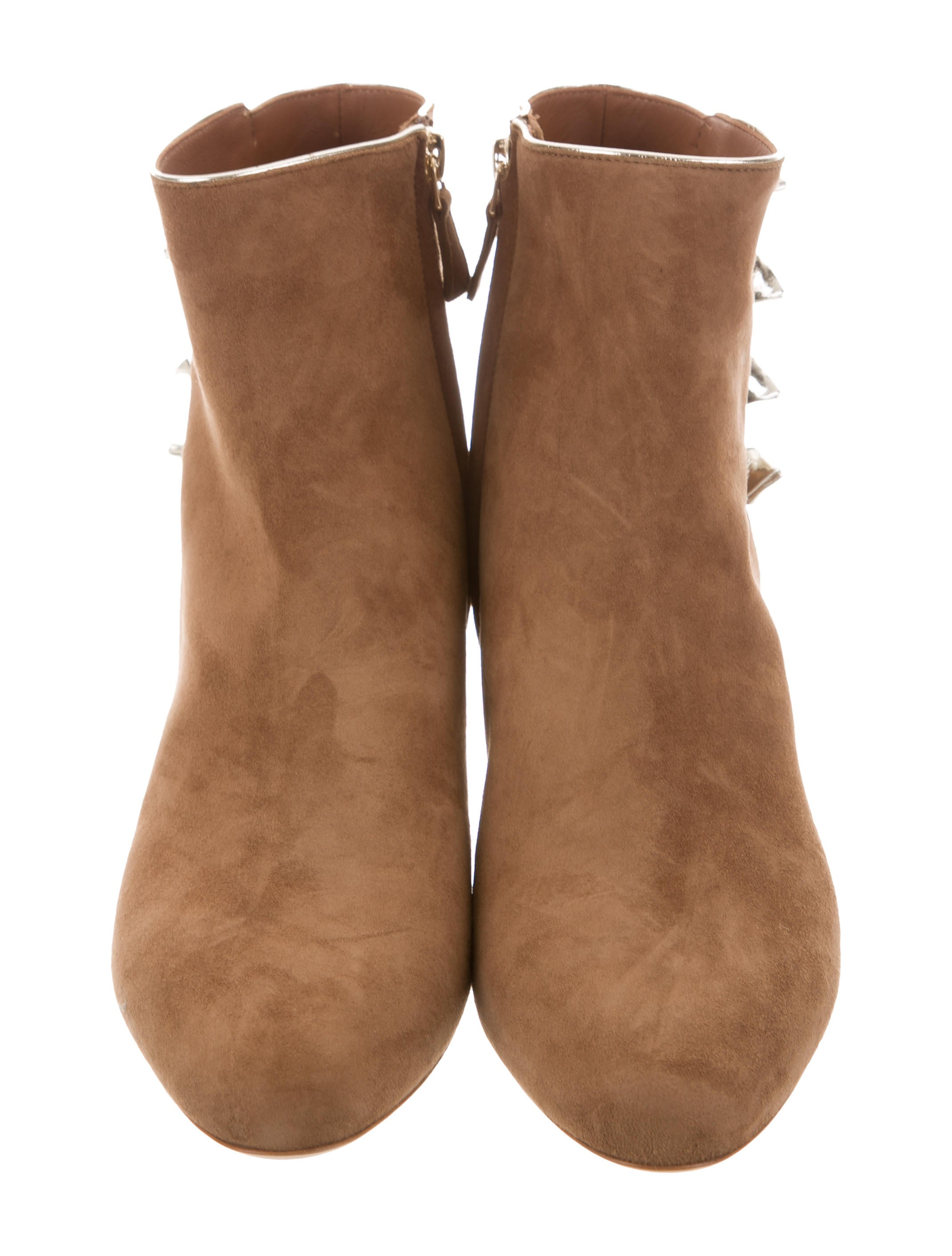 Malone Souliers Effie Suede Booties w/ Tags clearance low cost great deals cheap price G4vOqs