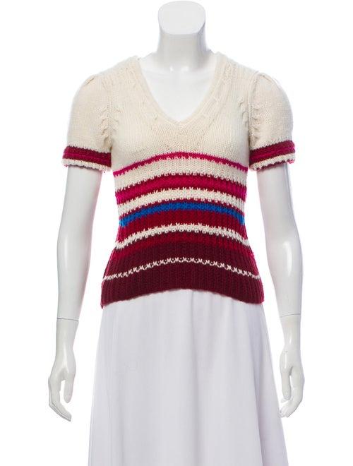 Spencer Vladimir Cashmere Short Sleeve Sweater mul