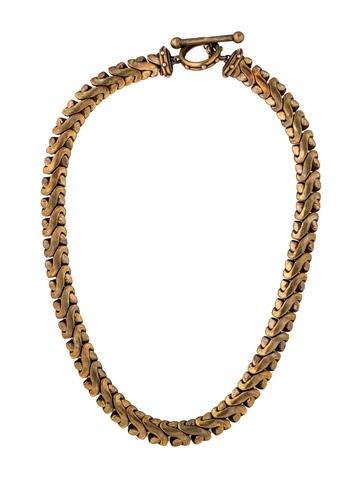 stephen dweck bronze chain necklace necklaces std21065