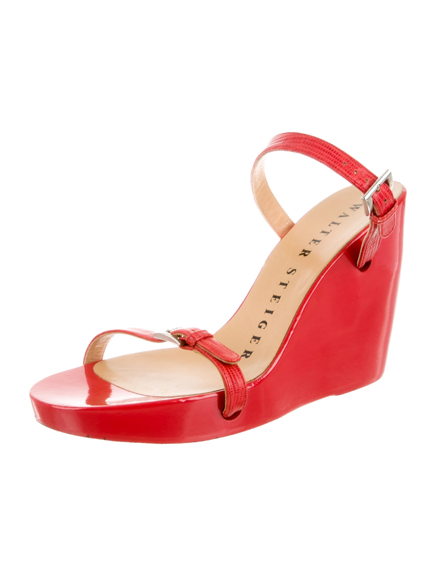 walter steiger slide wedges shoes sti20255 the realreal