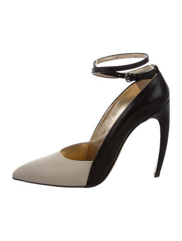 Walter Steiger Pointed-Toe Ankle Strap Pumps really for sale outlet reliable H4BZXx3DQl
