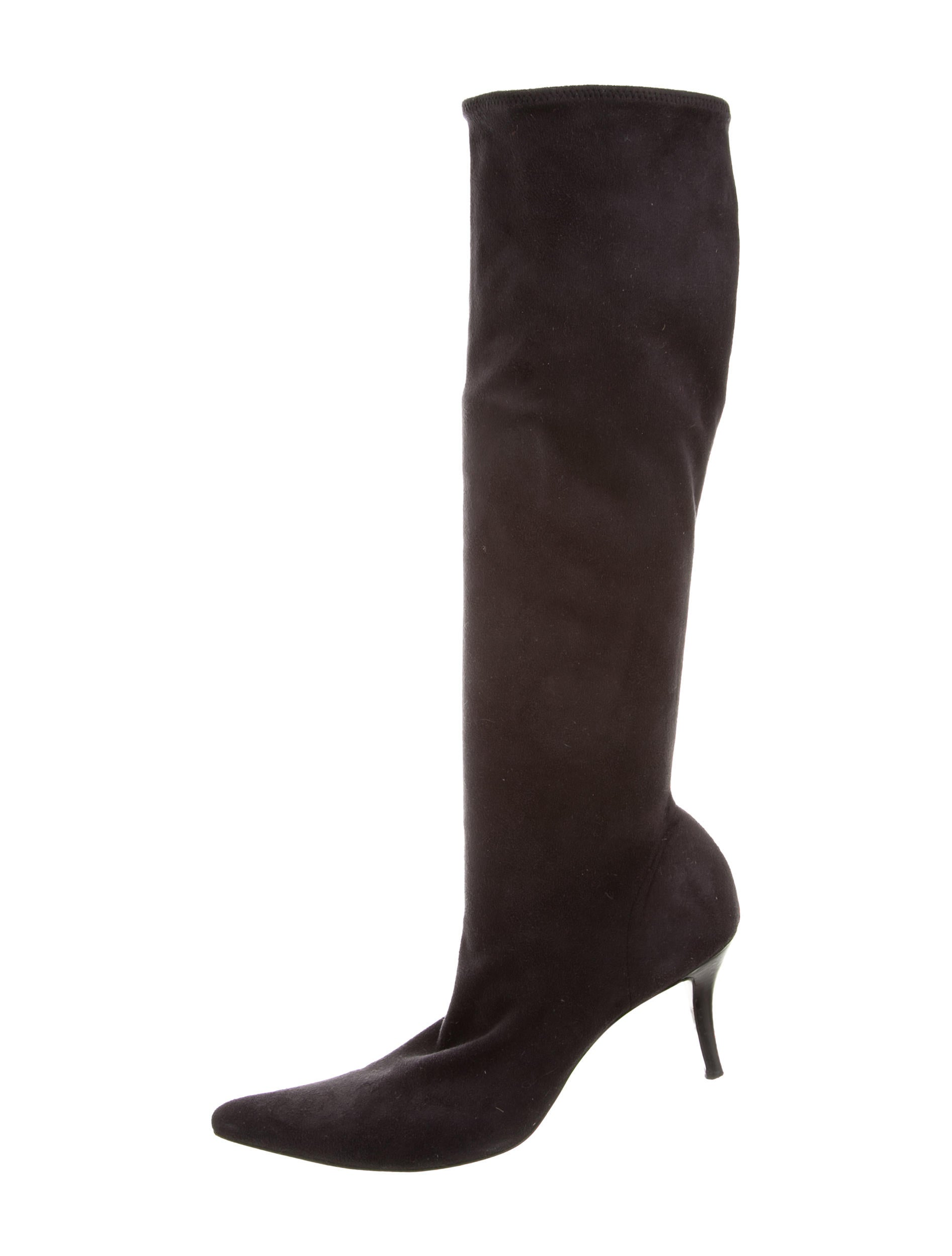 official Walter Steiger Suede Pointed-Toe Boots 2015 new cheap price sale eastbay for nice online 4Q5Psc