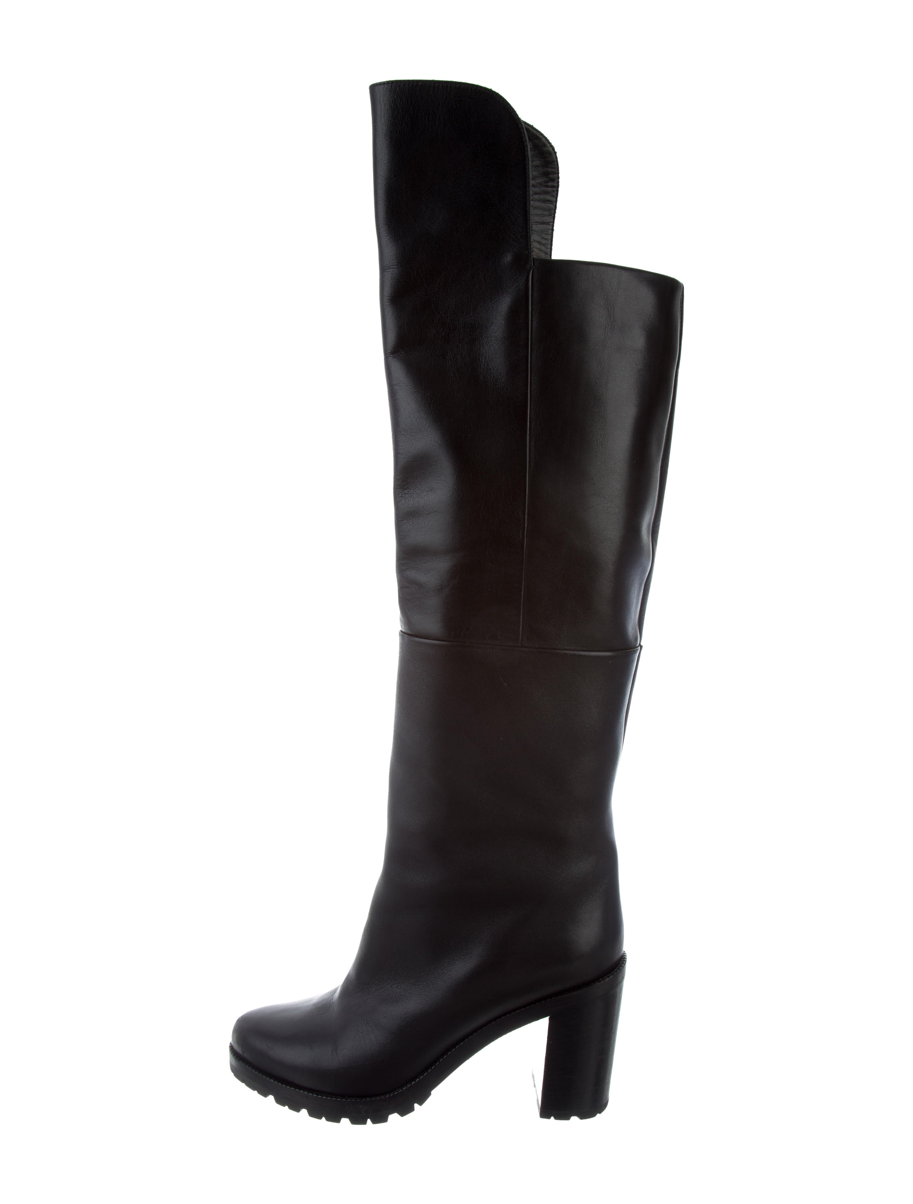 Walter Steiger Leather Over-The-Knee Boots sneakernews cheap price DAfrK2LD